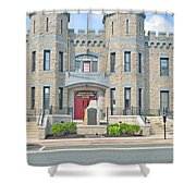 The Bel Air Maryland Armory 2 Shower Curtain
