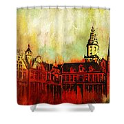 The Belfries Of Belgium And France  Shower Curtain
