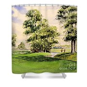 The Belfry Brabazon Golf Course 10th Hole Shower Curtain