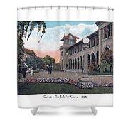The Belle Isle Casino - Detroit - 1923 Shower Curtain