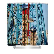 The Bells Of Coney Island Shower Curtain