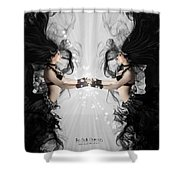 The Bellydancers Shower Curtain