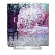 The Bench Of Promises Shower Curtain