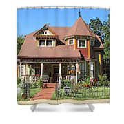 The Benefield House Jefferson Texas Shower Curtain