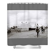 The Berber Shower Curtain