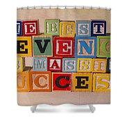 The Best Revenge Is Massive Success Shower Curtain
