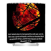 The Bible Revelation 6 Shower Curtain