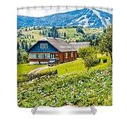The Big Dacha Shower Curtain
