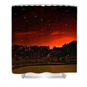 The Big Dipper Shower Curtain