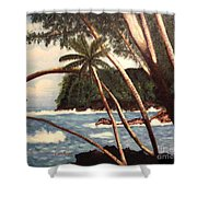 The Big Island Shower Curtain