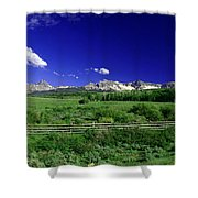 The Big Picture Shower Curtain
