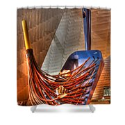 The Big Sweep Shower Curtain