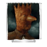 The Bird King Shower Curtain