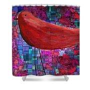 The Bird - S23a01bb Shower Curtain