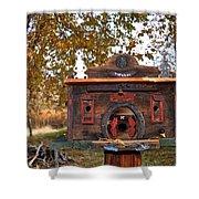 The Birdhouse Kingdom - Red-naped Sapsucker Shower Curtain