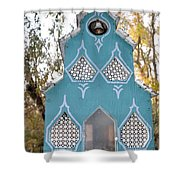 The Birdhouse Kingdom - The Northern Flicker Shower Curtain