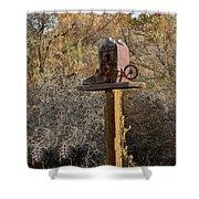 The Birdhouse Kingdom - Cowbird Home Shower Curtain