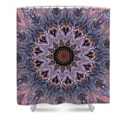The Birth Of The Sun Shower Curtain