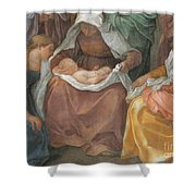 The Birth Of The Virgin Shower Curtain