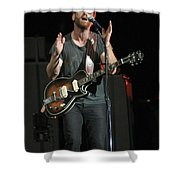 The Black Keys - Dan Auerbach Shower Curtain