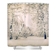 The Blizzard Shower Curtain
