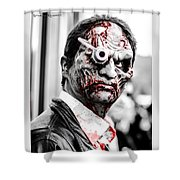 The Bloody Devil Shower Curtain
