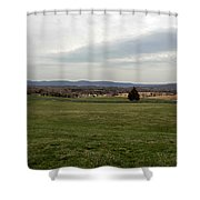 The Bloody Fields Of Antietam 1 Shower Curtain
