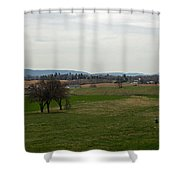 The Bloody Fields Of Antietam 2 Shower Curtain