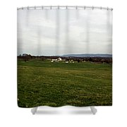 The Bloody Fields Of Antietam 3 Shower Curtain