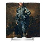 The Blue Boy, C.1770 Shower Curtain