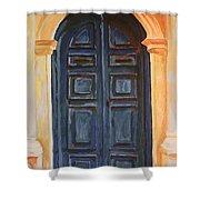 The Blue Door Venice Shower Curtain