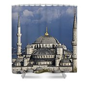 The Blue Mosque In Istanbul Shower Curtain
