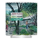 The Blue Mountains Of Jamaica Shower Curtain