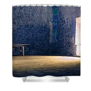 The Blue Room Shower Curtain