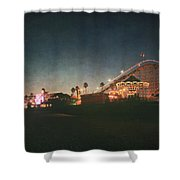 The Boardwalk Shower Curtain by Laurie Search