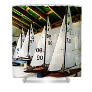 The Boat Shed Shower Curtain