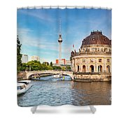 The Bode Museum Berlin Germany Shower Curtain