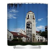 The Boise Depot Shower Curtain