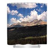Mountain Pass - Colorado Shower Curtain
