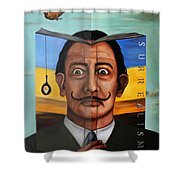 The Book Of Surrealism Edit 5 Shower Curtain