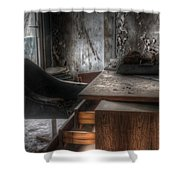 The Boss's Chair  Shower Curtain