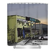 The Bottletree Cafe Shower Curtain