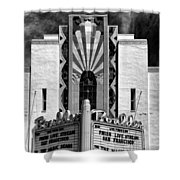The Boulder Theatre Shower Curtain