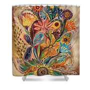The Bouquet Of Life Shower Curtain