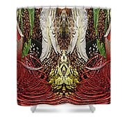 The Bouquet Unleashed 11 Shower Curtain
