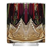 The Bouquet Unleashed 17 Shower Curtain