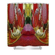The Bouquet Unleashed 24 Shower Curtain