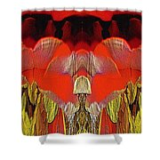 The Bouquet Unleashed 4 Shower Curtain by Tim Allen