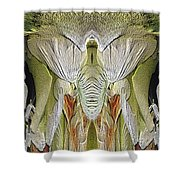 The Bouquet Unleashed 5 Shower Curtain by Tim Allen