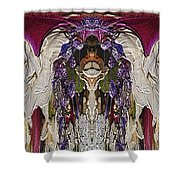 The Bouquet Unleashed 6 Shower Curtain by Tim Allen